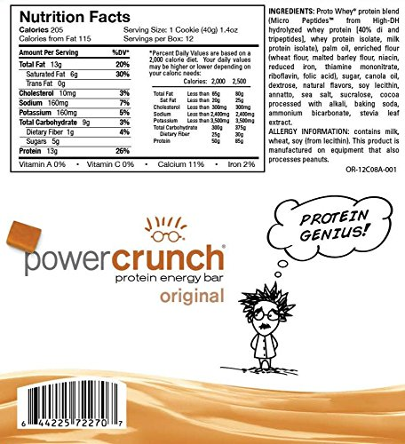 Bionutritional Research Group Power Crunch Salted Caramel, 12 Count by Bio Nutritional (Image #4)