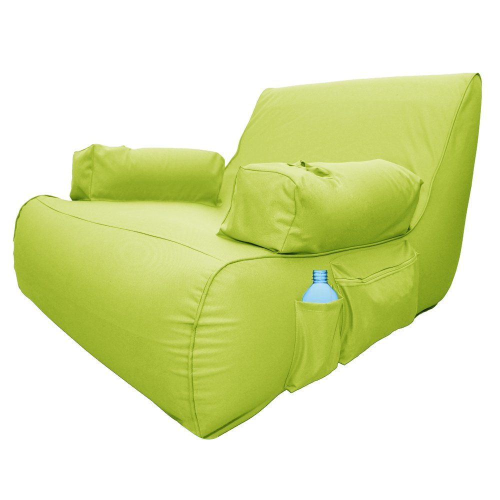 Ove Decors Miamil Miami Lime Inflatable Pool Float Lounger