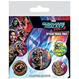 Guardians of the Galaxy 2 - Button Badge Set