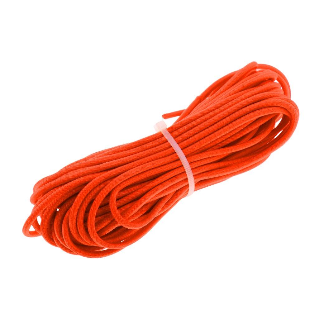 10m Elasticated 3mm Diameter Bungee Shock Cord Elastic shockcord Rope