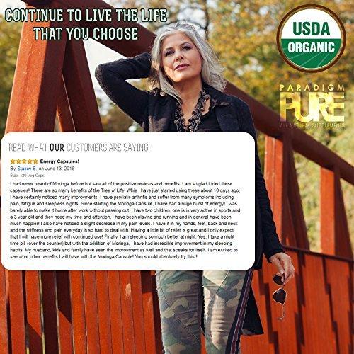 photo Wallpaper of Paradigm Pure-USDA Organic Moringa Capsules | 100% Pure Moringa-