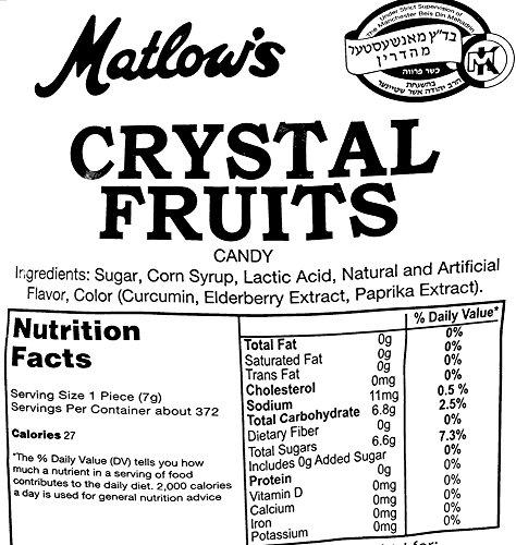 SweetGourmet Matlow's Crystal Fruits, 16 Oz by SweetGourmet (Image #2)