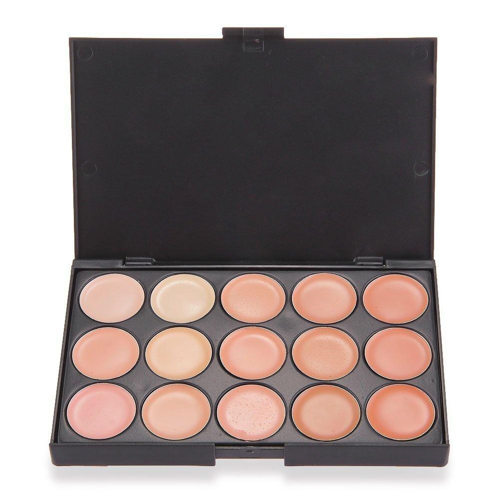 TOOGOO(R) 15 Farben Make-up Concealer Abdeckcreme Schminke Eyeshadow Camouflage kosmetische Palette SODIAL(R)
