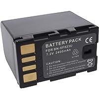 DMK Power BN-VF823U 2400mAh Li-ion Rechargeable Battery Pack for JVC GZ-HD7 GR-D750 GZ-MG130 etc Camera