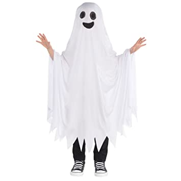 Ghost Cape Childrens Fancy Dress Halloween Spooky Ghoul Boys Girls Kids Costume  sc 1 st  Amazon UK : ghost cape costume  - Germanpascual.Com