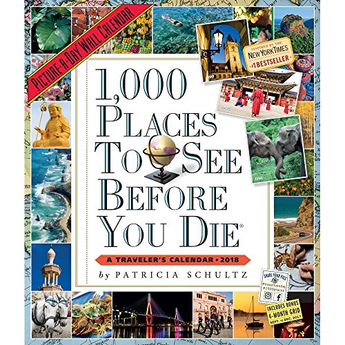 1,000 Places to See Before You Die Picture-A-Day Wall Calendar 2018