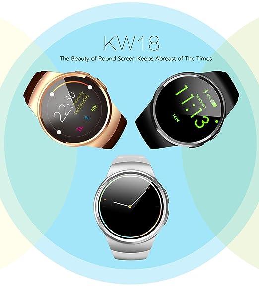 Smartwatch monitores de ritmo cardíaco pulsera inteligente ...