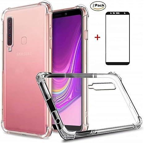 Funda Samsung Galaxy A9 2018 Ttimao Soft Transparente Silicona ...