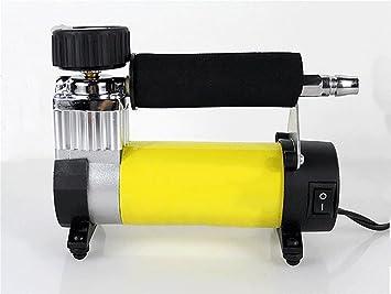 Portátil Mini coche Compresor de aire para bicicleta/bicicleta vehículo 12 V cc: Amazon.es: Coche y moto