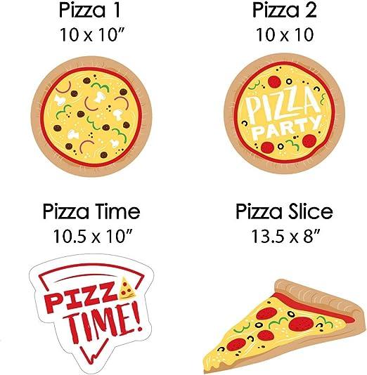 Amazon.com: Pizza Party Time – Decoración para césped ...