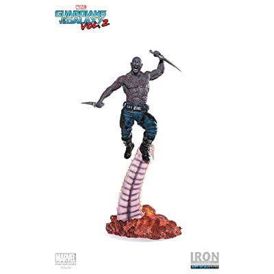 "Drax ""Guardians of the Galaxy Vol. 2"" Iron Studios Battle Diorama Series 1/10: Toys & Games"