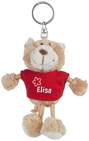 NICI n15794 - Llavero Oso con Camiseta Elisa, Rojo: Amazon ...