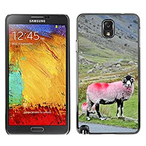 Super Stella Slim PC Hard Case Cover Skin Armor Shell Protection // M00145183 Sheep Hills Landscape Farm Nature // Samsung Galaxy Note 3 III N9000 N9002 N9005