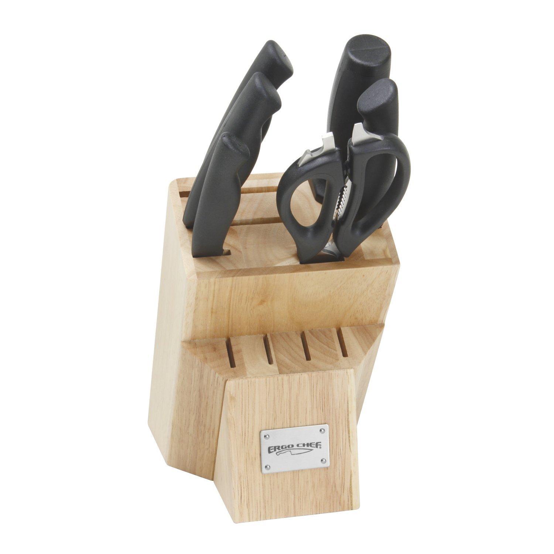 7pc. PRODIGY Wooden Knife Block Set