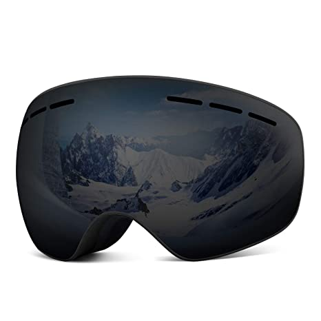 a2b16aadd14 Amazon.com   Rhino Valley Frameless OTG Ski Goggles