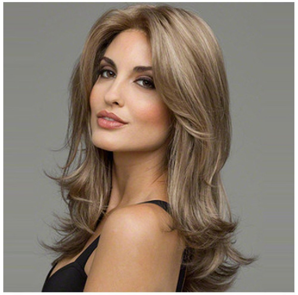 HONGLIEuropa y los Estados Unidos peluca mujeres cabello largo fibra capilares: Amazon.es: Salud y cuidado personal