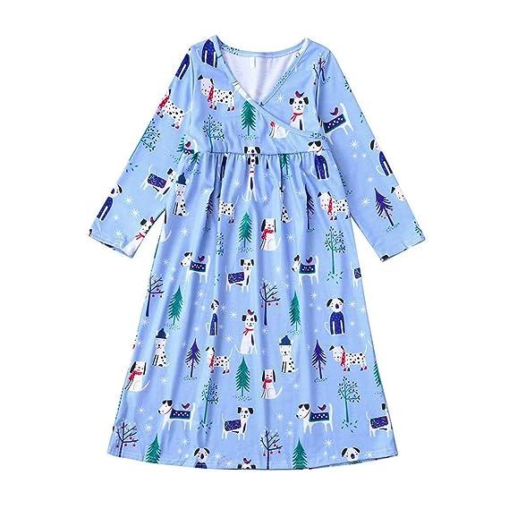 SamMoSon♥♥Ropa para Niña Vestidos BebéS Faldas Vestido Ceremonia Manga Larga Camisetas Bebe Invierno