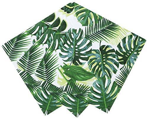 Talking Tables Fiesta Party Supplies | Fiesta Cocktail Napkins | Great For Jungle Themed Party, Luau Party, Hawaiian Party, Baby Shower And Birthday Decorations | Paper, 20 Pack