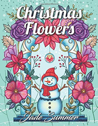 Christmas Flowers Coloring Relaxing Patterns product image