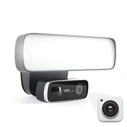 Floodlight Camera Motion Light Outdoor Camera Spotlight Camera  Motion-activated HD Video Siren Alarm Wireless Two Way Audio Smart Flood  Light For Home