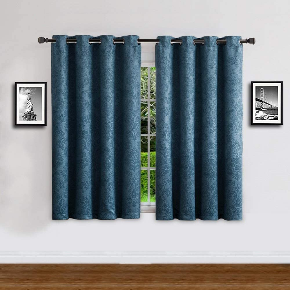 WARM HOME DESIGNS 1 Panel of Short Blue Teal 54