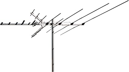 Long Range Digital OTA Antenna for Clear Reception RCA Outdoor Yagi Satellite HD Antenna with Over 70 Mile Range Attic or Roof Mount TV Antenna TV Antenna 4K 1080P