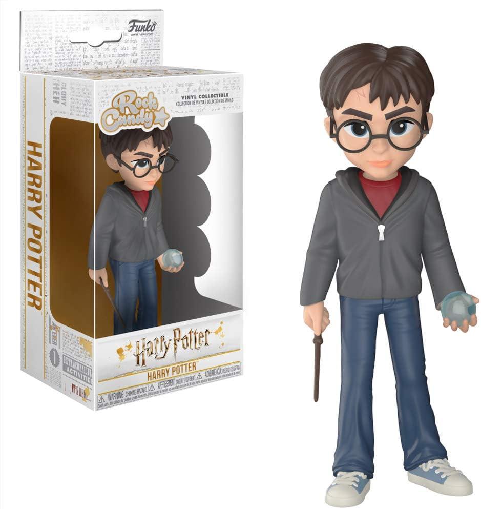 Funko- Rock Candy Harry Potter w/Prophecy Figura Coleccionable, Multicolor (30284)