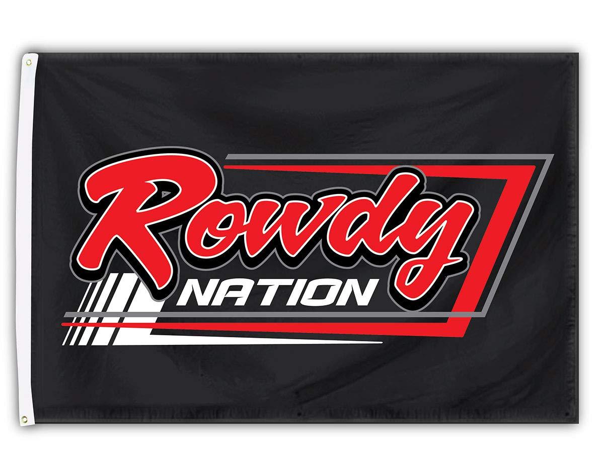 Kyle Busch Rowdy Nation Flag