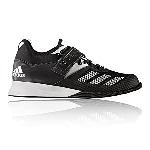 save off 02ad4 96637 adidas Crazy Power Weightlifting Shoes, Black - 6 UK