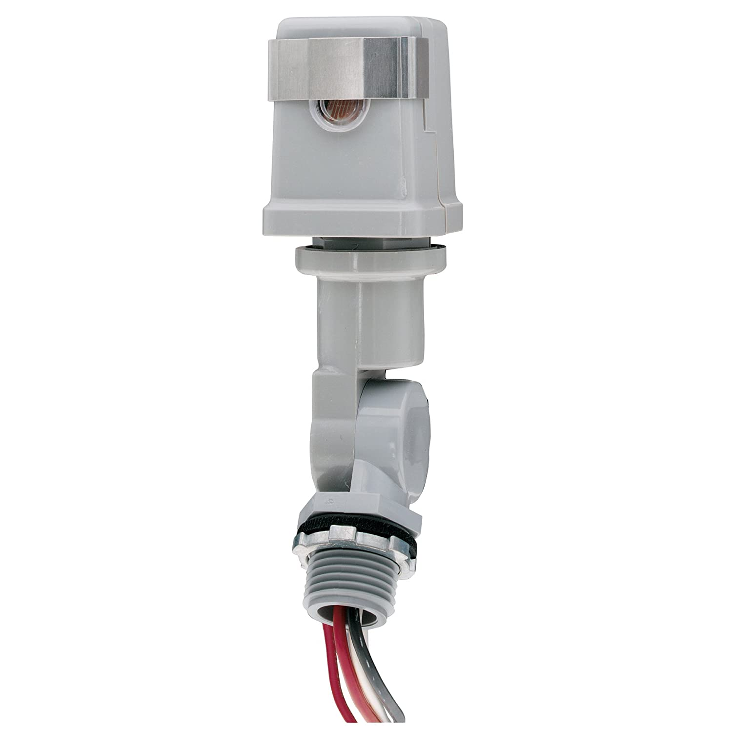 intermatic k4221c 120 volt stem and swivel mount thermal photocontrol  intermatic photo control wiring #8