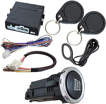 Auto Rfid Wegfahrsperre Push Button Start Stop System Auto
