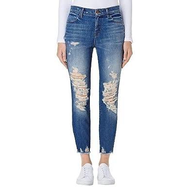 Amazon.com  J Brand Jeans Women s Alana High Rise Crop Skinny Jean ... 47547a45de