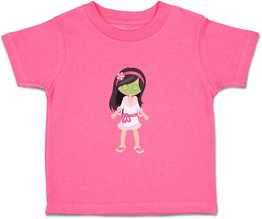Custom Baby /& Toddler T-Shirt Face Mask Cucumbers Black Cotton Boy Girl Clothes