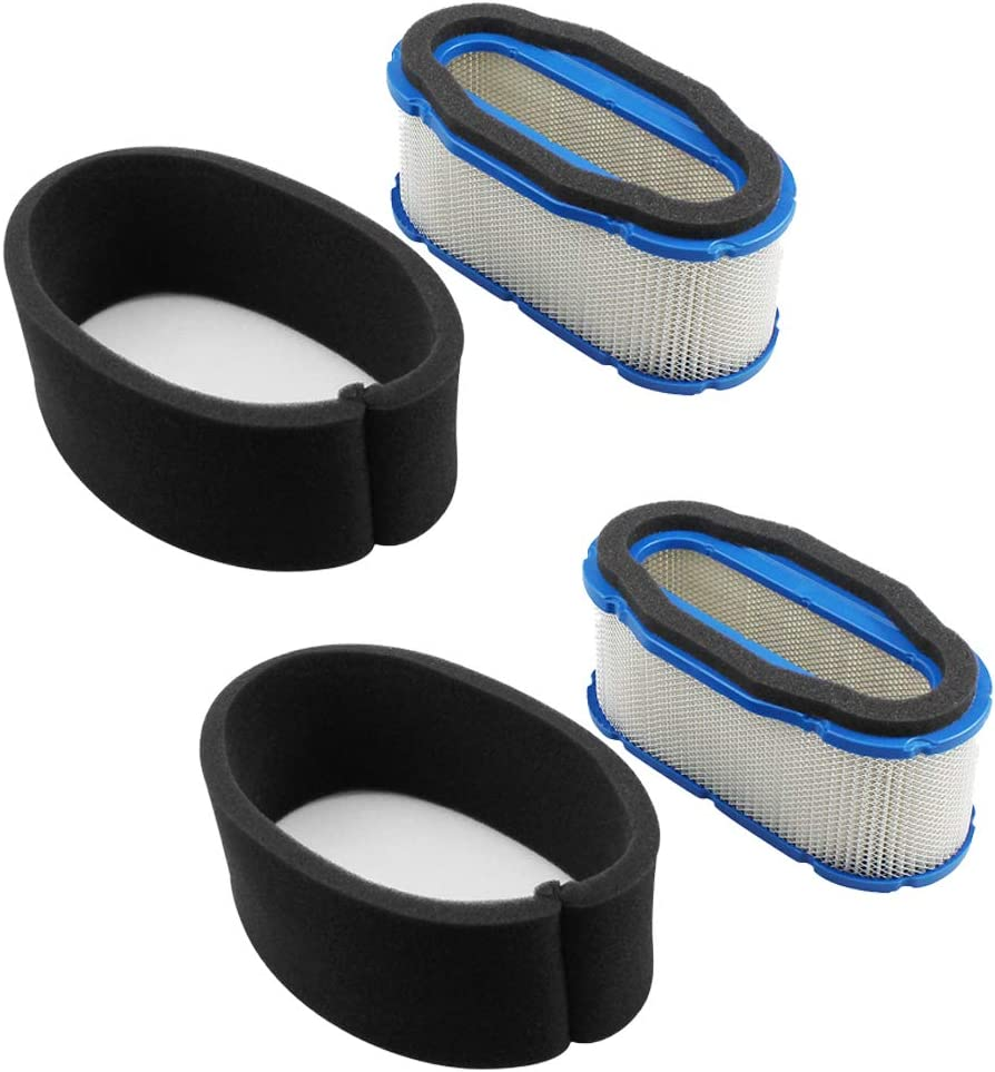 LOCOPOW Air Filter /& Pre Filter Cleaner 11013-7024 11013-7005 11013-7010 11013-7027 Replacement for Kawasaki FH601V FH641V FH680V FH721V