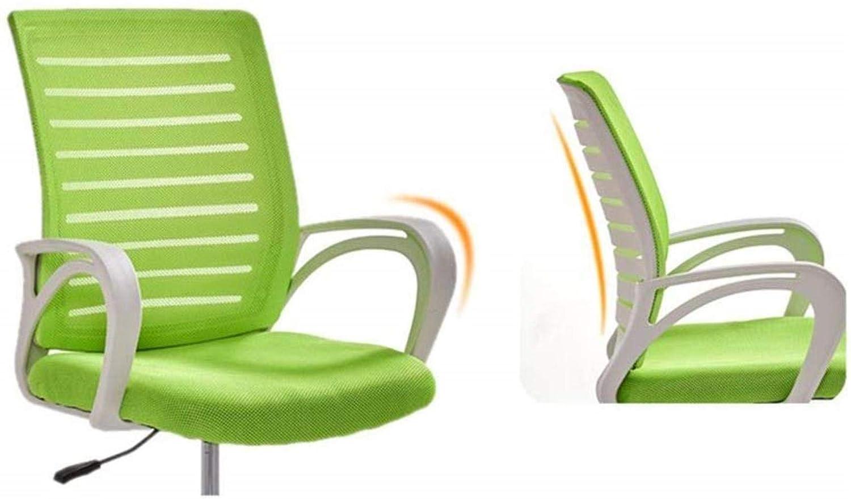 RXL bekväm kontorsstol datorstol explosion mysig stol svängstol lyftstol studentkonferens robust (färg: Orange) gRÖN