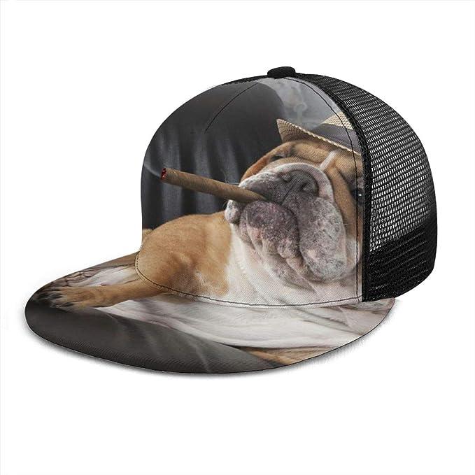 Inaayayi Gorra de béisbol con diseño de Bulldog inglés para Fumar ...