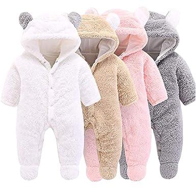 Haokaini - Traje de Nieve cálido para bebé Oso, Mono de ...