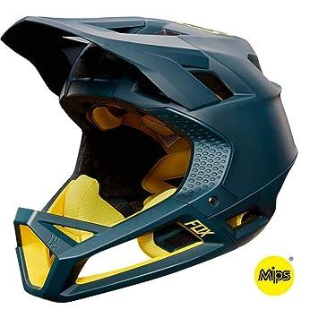 Fox Enduro – Casco para Bicicleta de montaña proframe Midnight, Color Azul, tamaño Azul