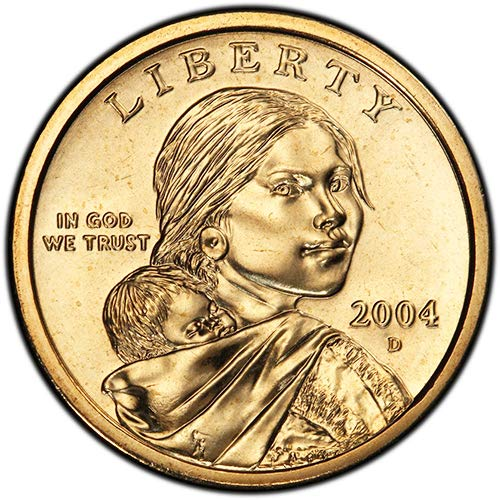 2004 D BU Sacagawea Dollar Choice Uncirculated US Mint