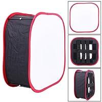 ALLCACA Diffusore Pieghevole Pannello Luminoso portatile a LED Softbox, Adatto per YONGNUO, YN600 e YN900 Serie