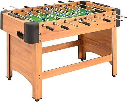 Tidyard - Futbolín profesional, patas regulables en altura, estantería de mesa, futbolín de mesa, 118 x 95 x 79 cm, acero: Amazon.es: Hogar