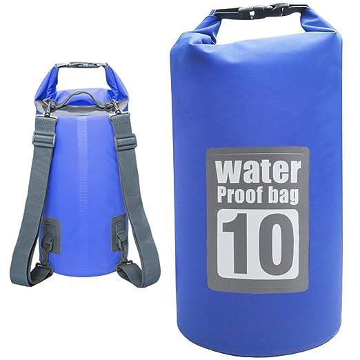 18 opinioni per Sacca Impermeabile 10L DeFe Borsa Impermeabile Borse Stagna Dry Bag per Rafting