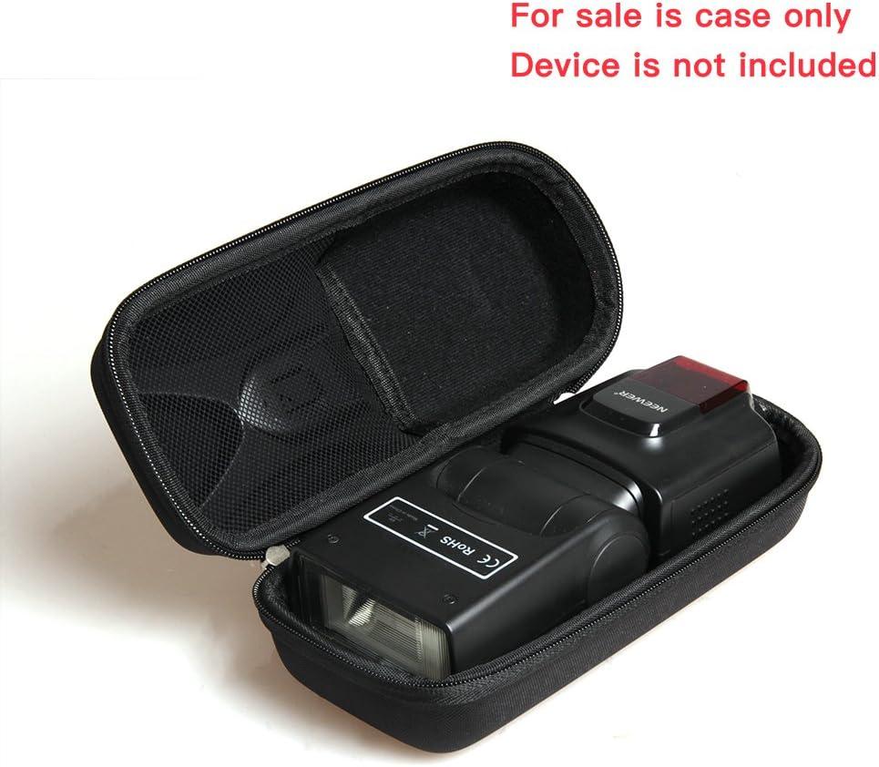EVA Hard Protective Travel Case Carrying Bag for Neewer TT560 Flash Speedlite Digital SLR Film SLR Cameras by Hermitshell