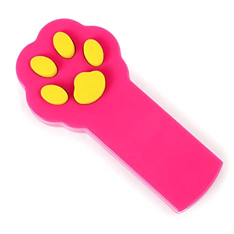 UEETEK Juguete del gato captura interactiva LED luz beam puntero de juguete del animal doméstico herramienta