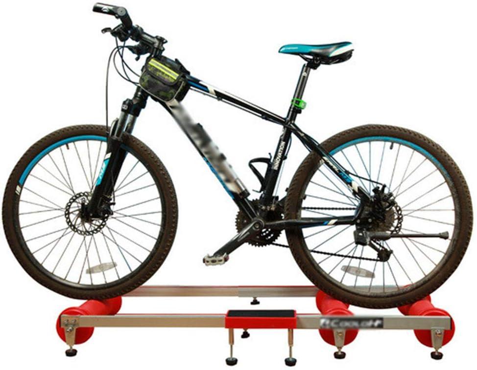 JSZXC Rodillos de Entrenador de Bicicleta Ejercicio en casa para ...