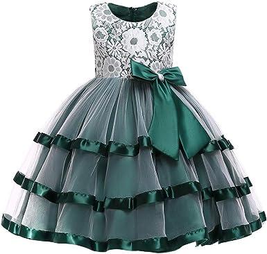 Baby Girl Dresses,Fineser Toddler Infant Baby Children Kids Girls Long Sleeve Print Cartoon Clothes Party Princess Dresses