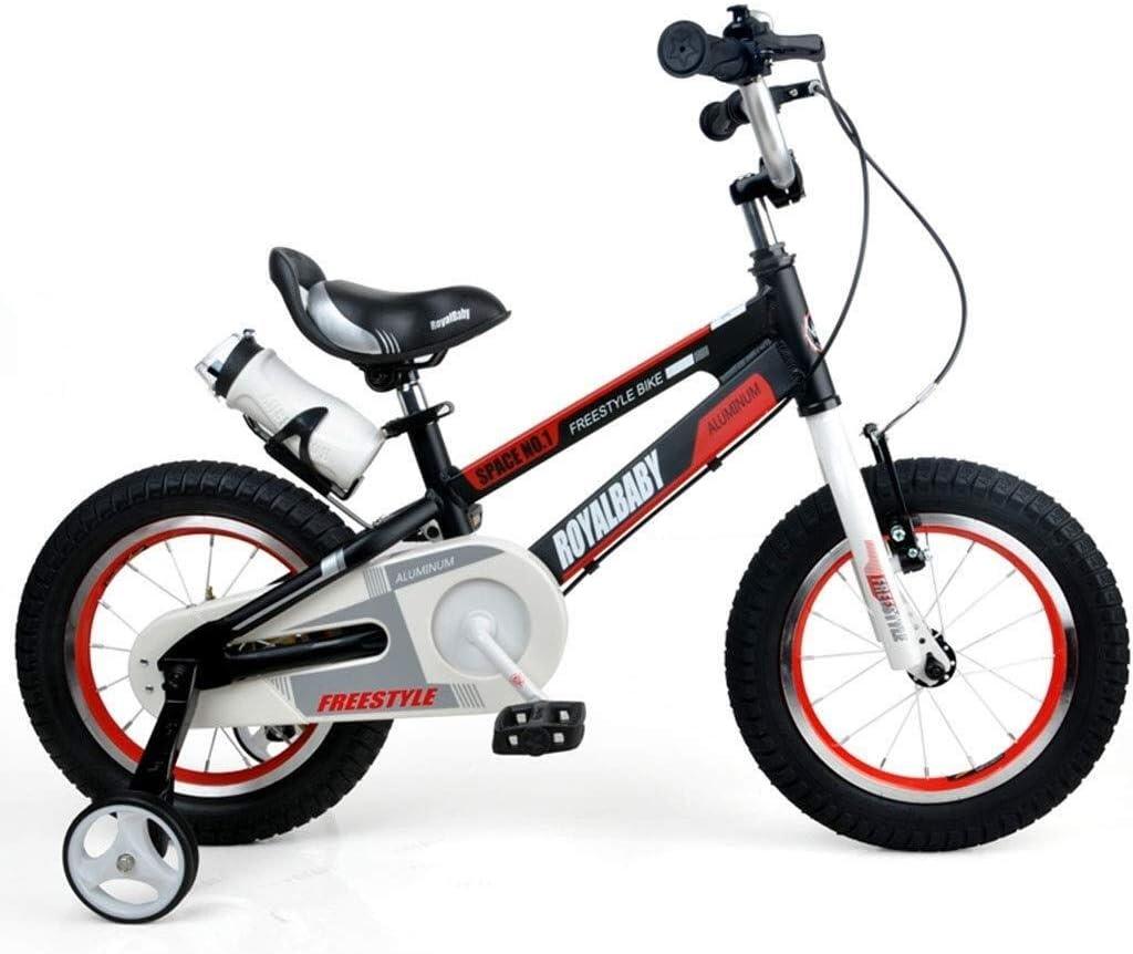 AJZGF Bicicletas niños Bicicleta for niños Freestyle Boy Boy Bike Size 14