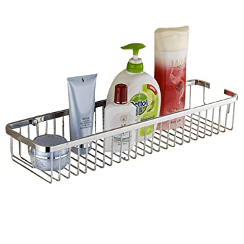 Amazon.com: ME-SHELF - Estante de ducha de acero inoxidable ...