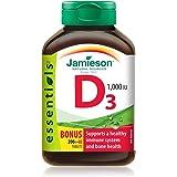 Vitamin D3 1,000 IU Bonus -240 tabs Brand: Jamieson Laboratories