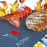 "Kona BBQ Grill Mat(TM) - Heavy Duty Non Stick Cooking Mats 16""x13"" or 25""x36"" (Set of 2)"